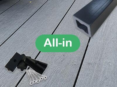 All-in vlonderplanken per m²