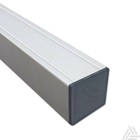 Tuinpaal Aluminium met houten kern 300x7x7 cm