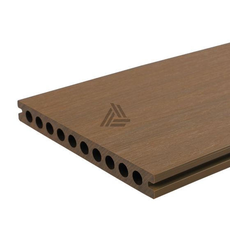 Vlonderplank Fun-Deck Teak Co-extrusion 400x21x2,3 cm All-in (per m²)