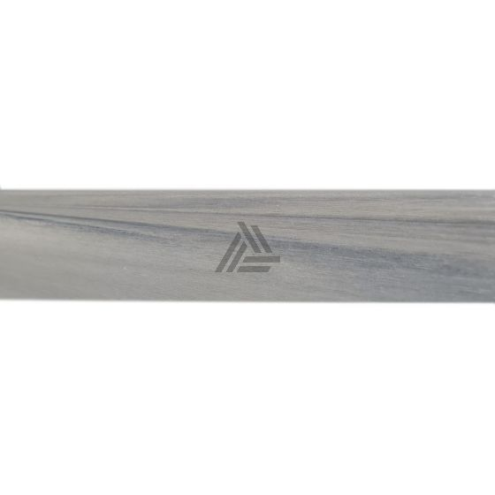 Afwerklijst Composiet Light Grey Co-extrusion 220x5,3x1,2 cm