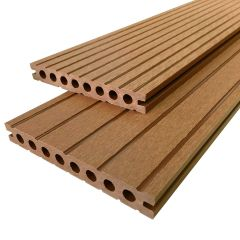 Vlonderplanken Teak Superieur Composiet 220x14,5x2,1 cm All-in (per m²)