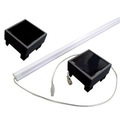 LED stripverlichting tuinscherm modulair