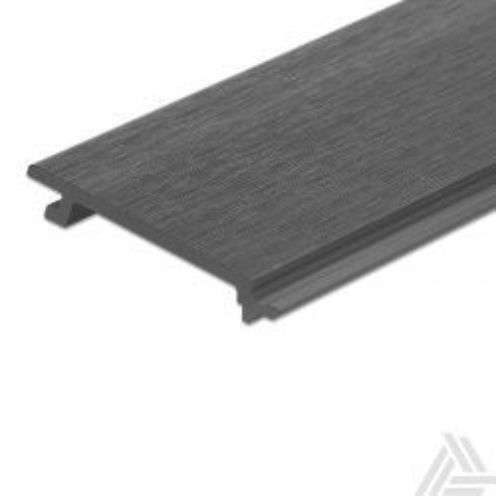 Rabatdeel Antraciet Composiet Co-Extrusion 400x15,6x2,1 cm