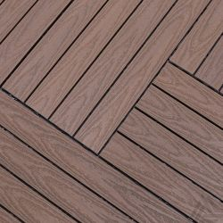 Tegel Fun-Deck Multibrown Wild Co-extrusion 30x90x2,2 cm