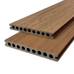 Proefstukje Vlonderplank Indian Teak Co-extrusion  (20)