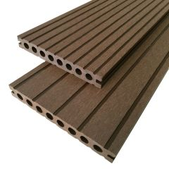 Wenge 4 meter houtcomposiet all-in vlonders