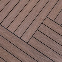 Tegel Fun-Deck Multibrown Wild Co-extrusion 30x90x2,2 cm