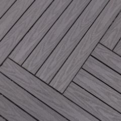 Tegel Fun-Deck Multigrey Dark Co-extrusion 30x90x2,2 cm