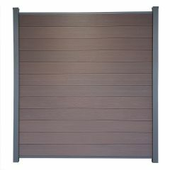 Guardener Schutting Espresso Brown Co-extrusion 200x180 cm
