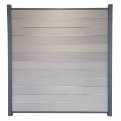 Guardener Schutting Cloudy Grey Co-extrusion 200x180 cm