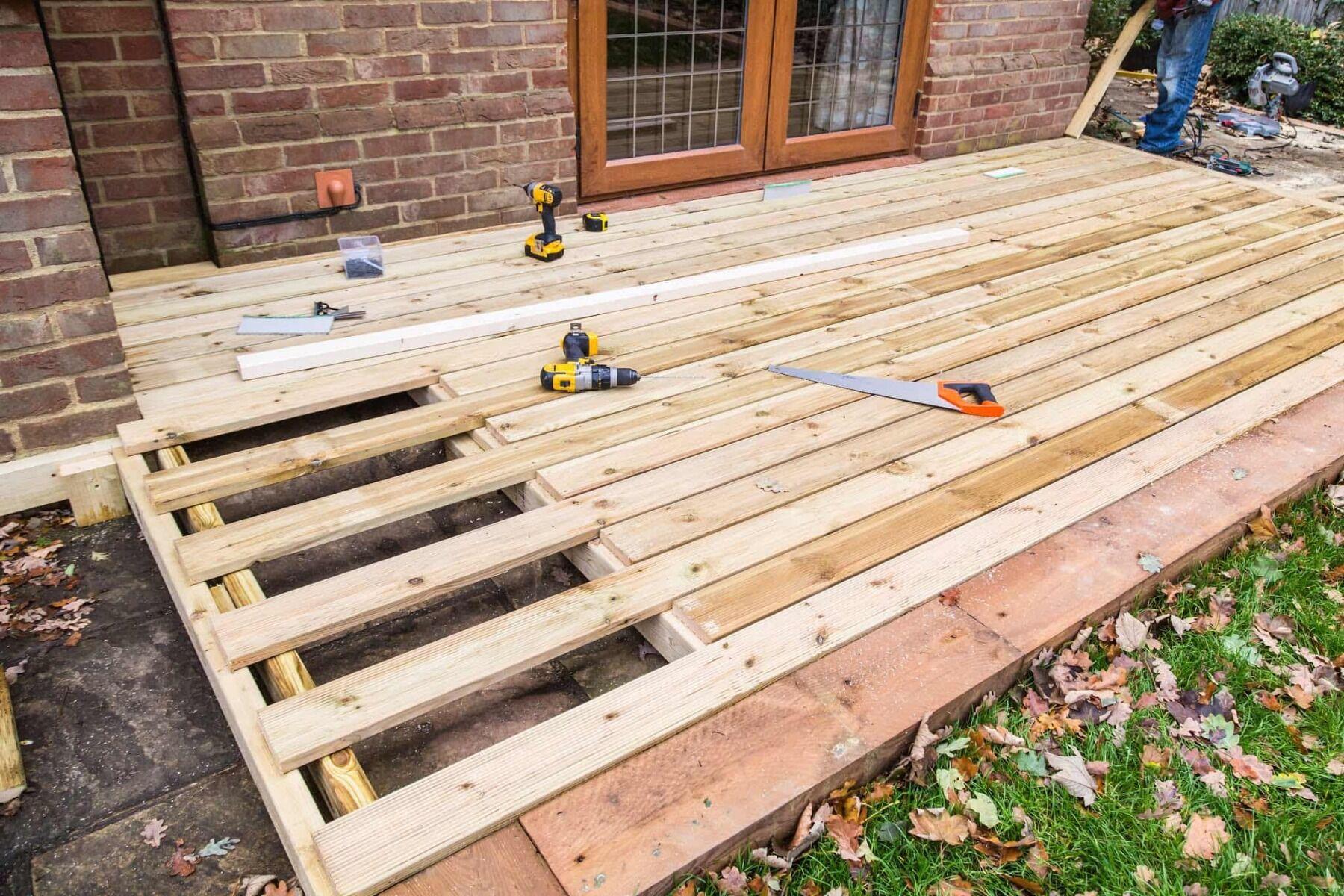 houten vlonderplanken