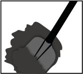 Stap 3.1 bij het maken van een schutting